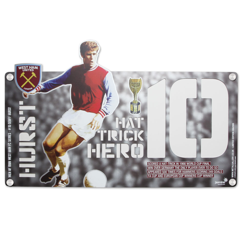 METAL ART - GEOFF HURST