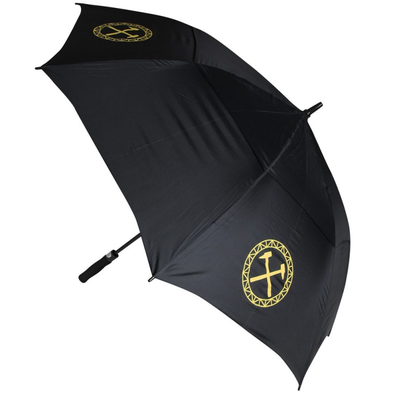 BLACK CREST LARGE UMBRELLA