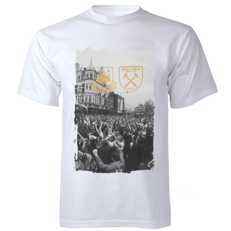 WHITE BARKING ROAD T-SHIRT