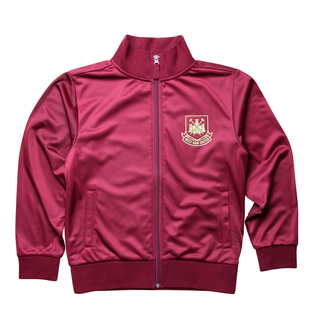 JUNIOR CLARET BARKING ROAD JACKET