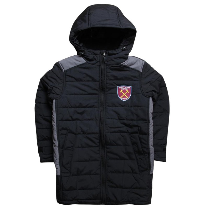 JUNIOR BLACK STADIUM JACKET