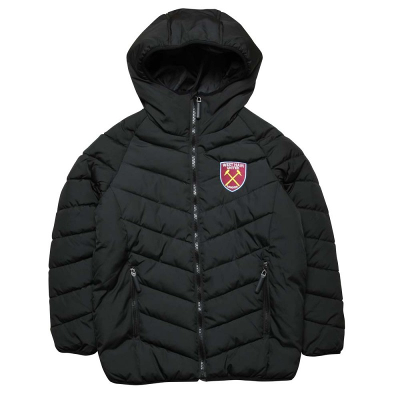 JUNIOR BLACK PADDED JACKET