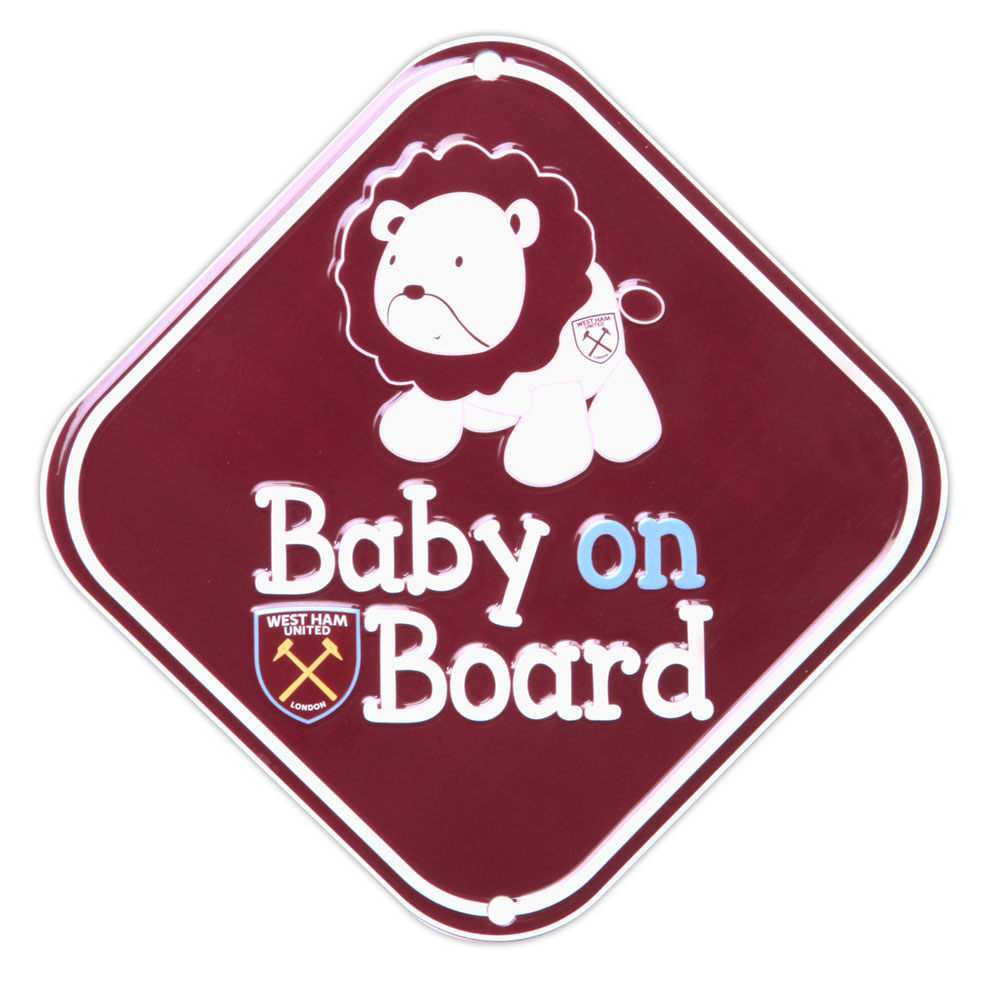 BABY ON BOARD LION