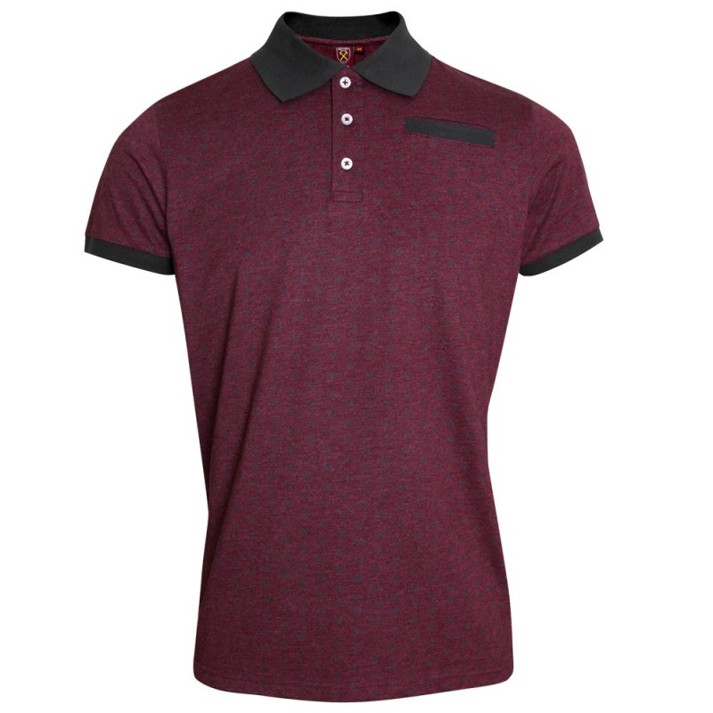 CLARET HAMMERS POLO