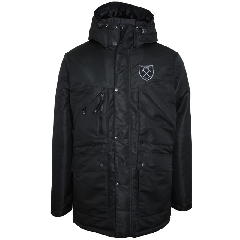 BLACK WINTER PARKA