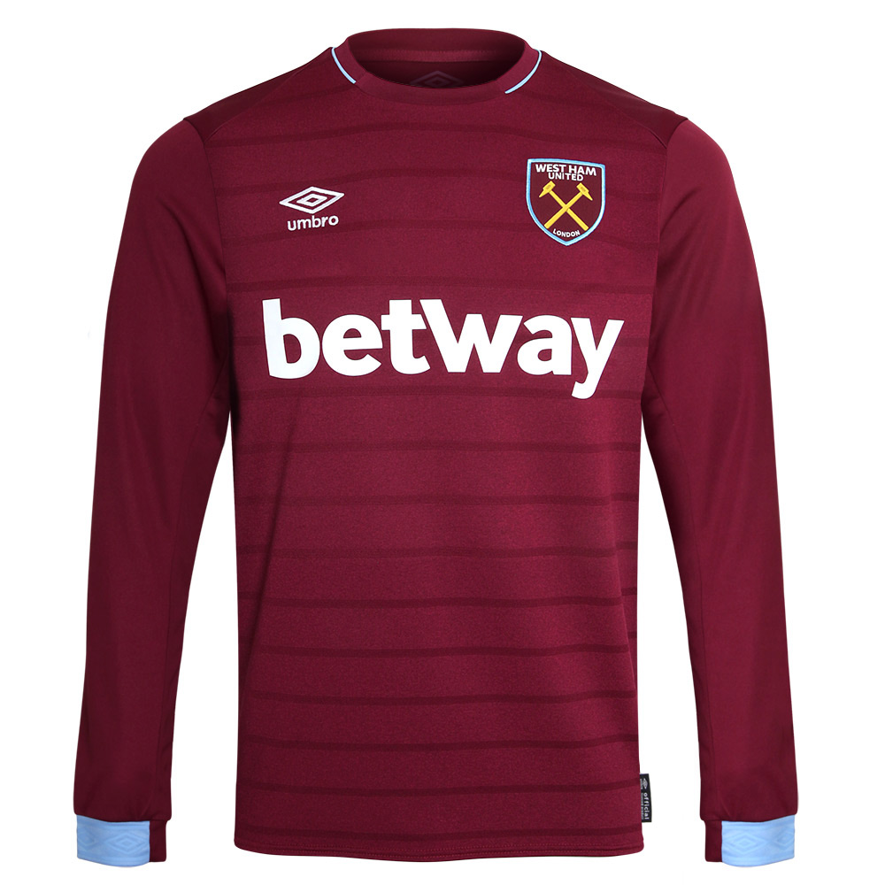 2018/19 ADULT L/S HOME SHIRT