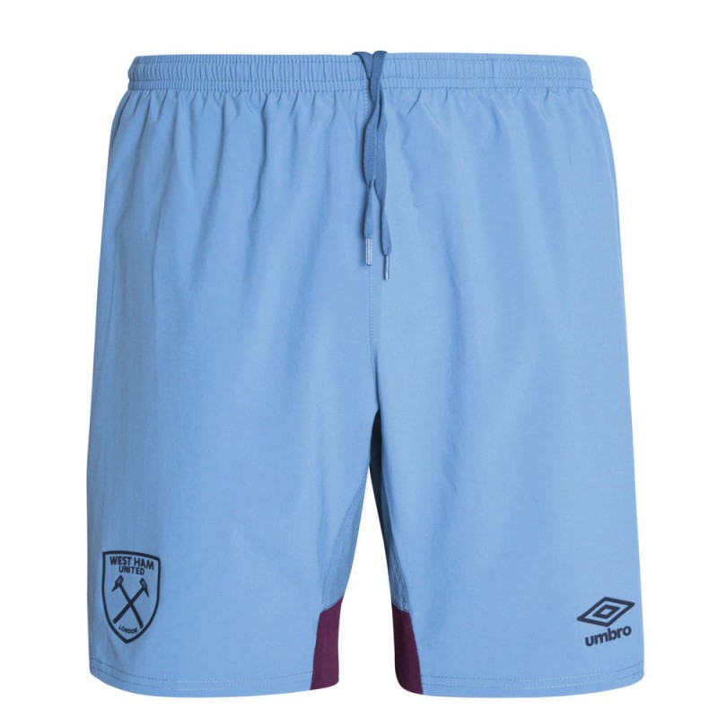 2018/19 ADULT TRAINING WOVEN SHORTS BLUE YONDER