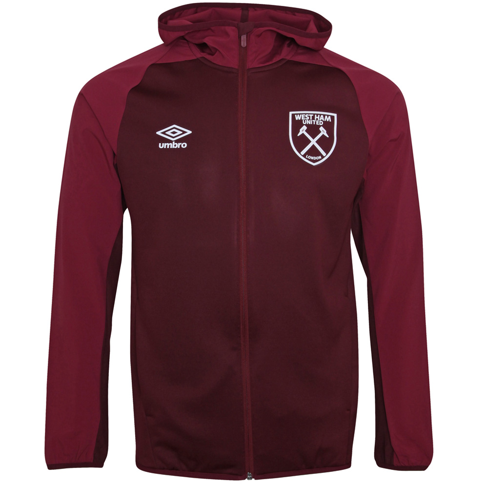2018/19 ADULTS HOODED JACKET ZINFANDEL