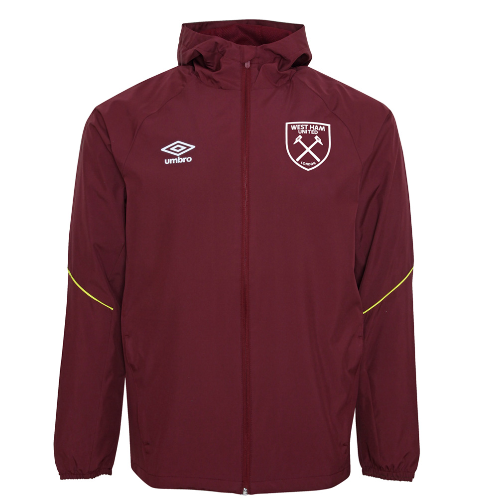 2018/19 JUNIOR TRAINING SHOWER JACKET ZINFANDEL