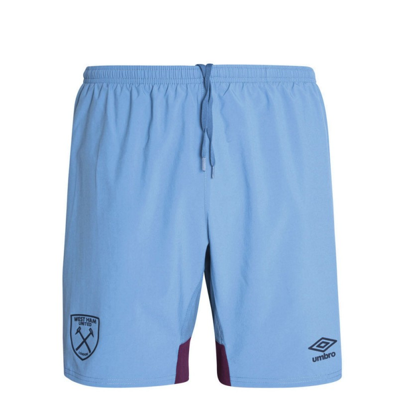 2018/19 JUNIOR TRAINING WOVEN SHORTS BLUE YONDER