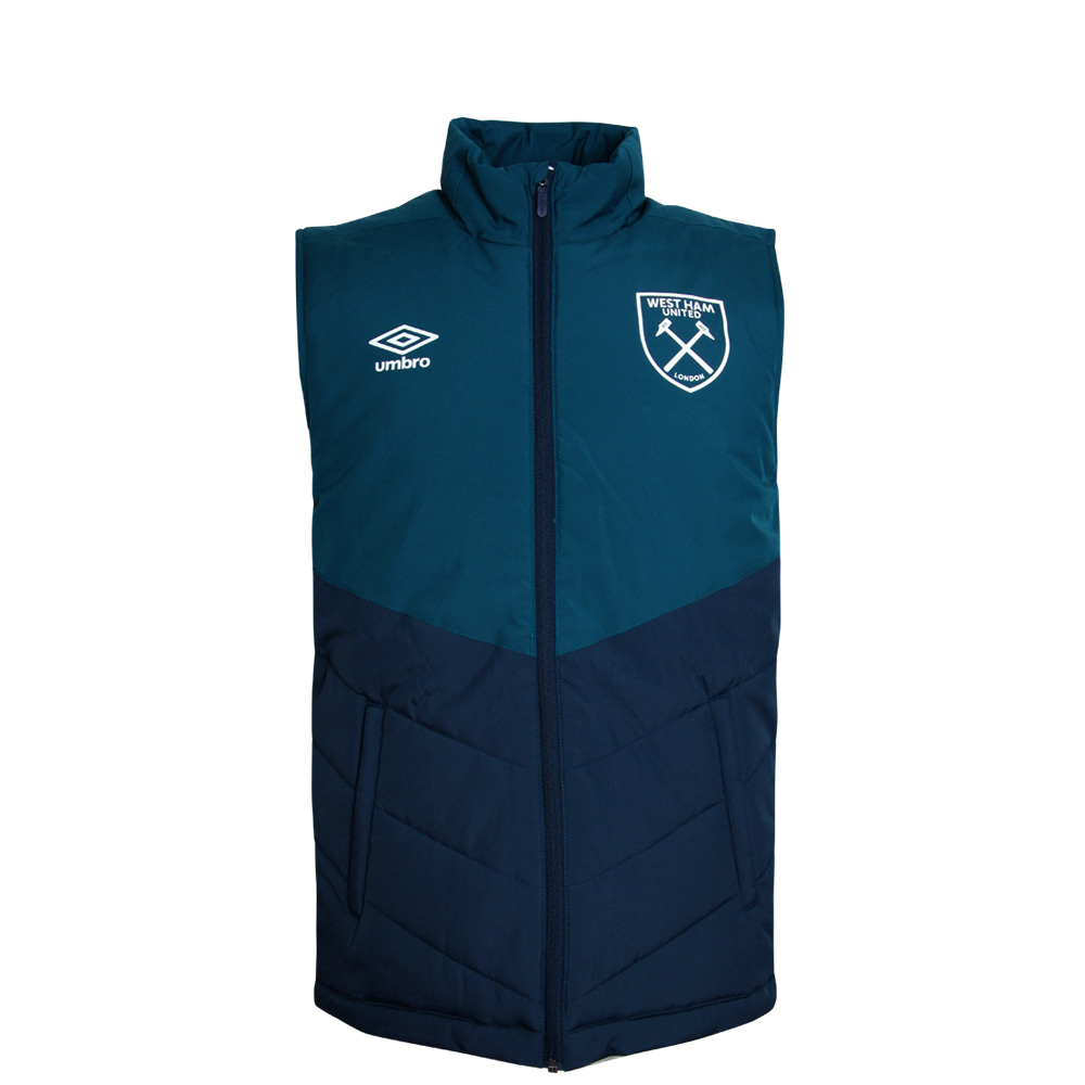 2018/19 JUNIOR PADDED GILET PEACOAT