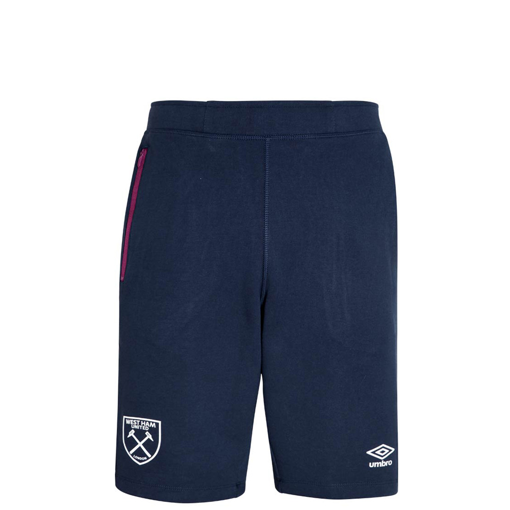 2018/19 JUNIOR PRO FLEECE SHORTS PEACOAT