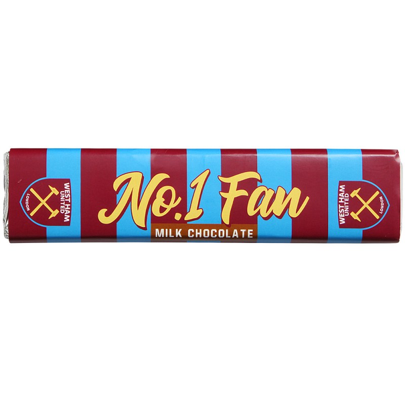 No 1 FAN MILK CHOCOLATE BAR