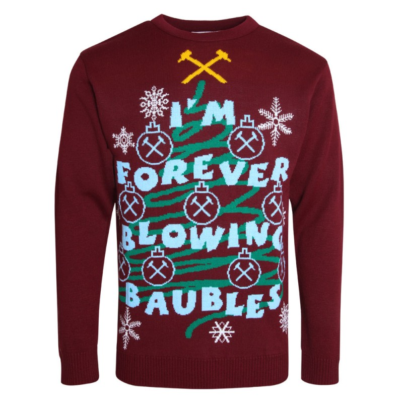 ADULT FOREVER BLOWING BAUBLES JUMPER