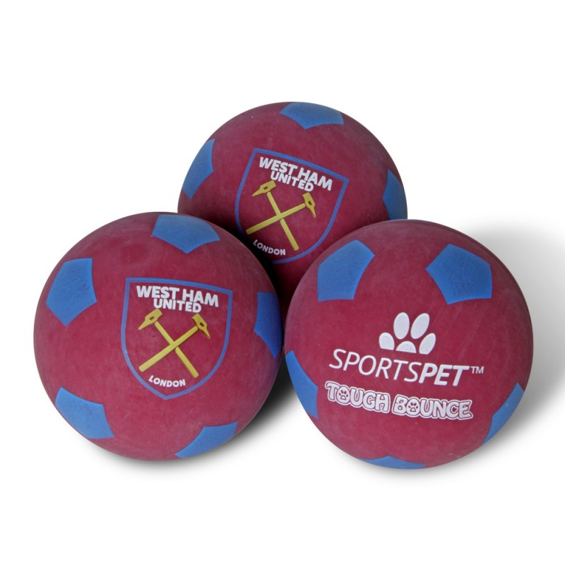 3 PACK TOUGH PET BALLS