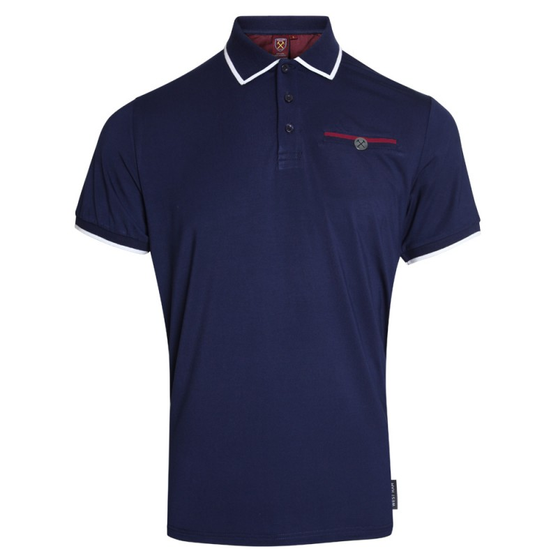 CLARET COLLECTION - NAVY POLO
