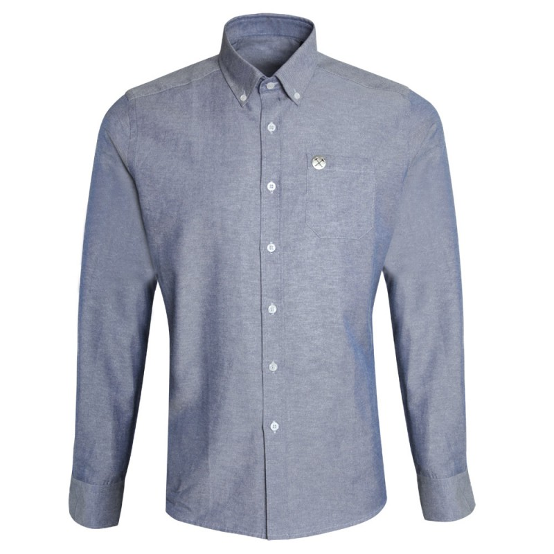 CLARET COLLECTION - BLUE CHAMBRAY SHIRT