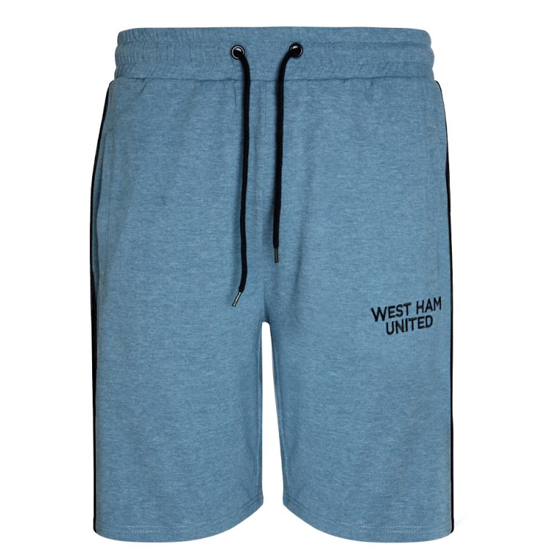 BLUE MARL LOUNGE SHORTS