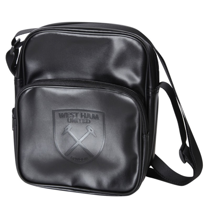 TONAL CREST SHOULDER BAG