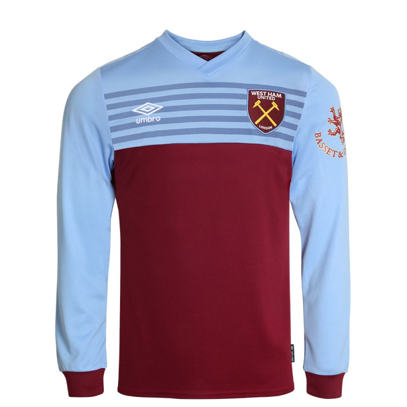 WEST HAM 19/20 UNDER 18  L/S HOME SHIRT