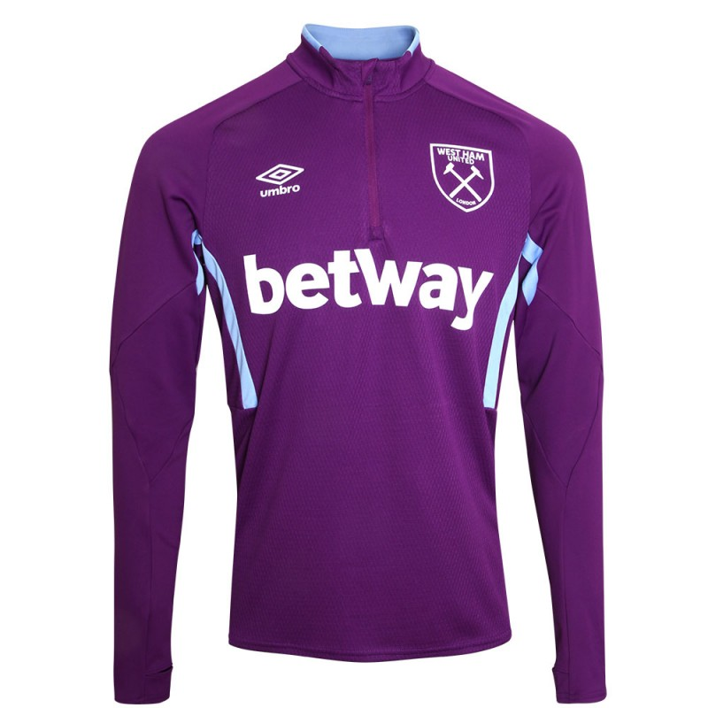 WEST HAM 19/20 ADULTS TRAINING HALF ZIP TOP
