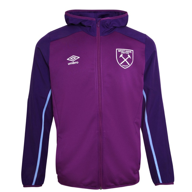 WEST HAM 19/20 ADULTS HOODED JACKET