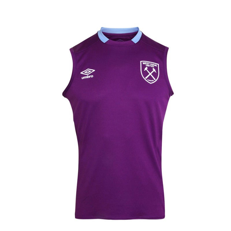 WEST HAM 19/20 JUNIOR SLEEVELESS JERSEY