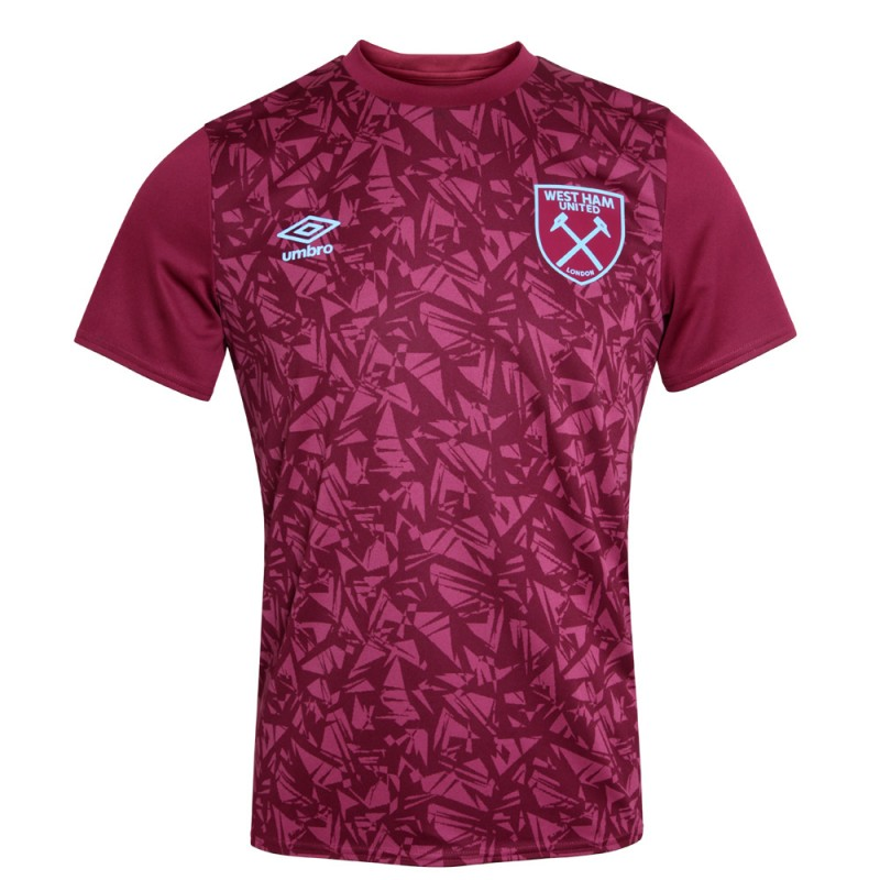 WEST HAM 20/21 ADULTS WARM UP JERSEY