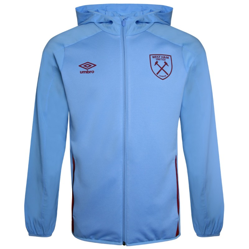 WEST HAM 20/21 ADULTS HOODED JACKET