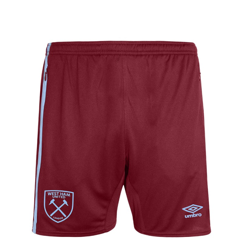 WEST HAM 20/21 JUNIOR TRAINING SHORTS