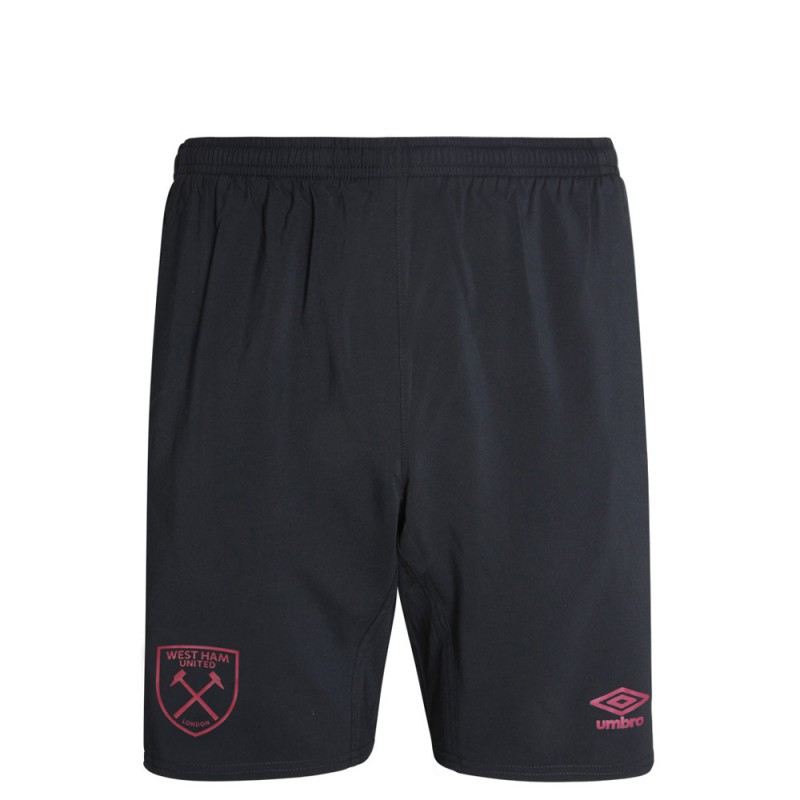 WEST HAM 20/21 JUNIOR LONG WOVEN SHORTS