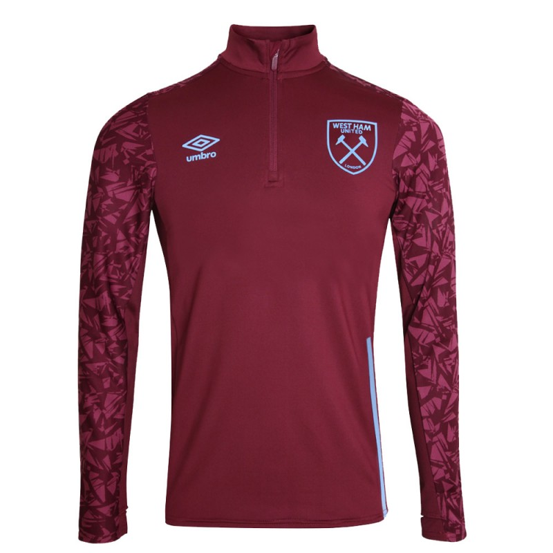 WEST HAM 20/21 JUNIOR TRAINING HALF ZIP TOP