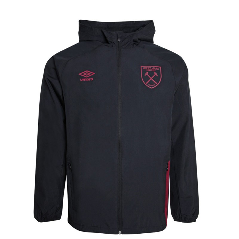 WEST HAM 20/21 JUNIOR TRAINING SHOWER JACKET