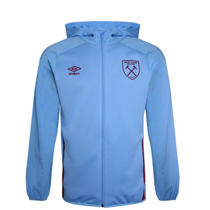 WEST HAM 20/21 JUNIOR HOODED JACKET