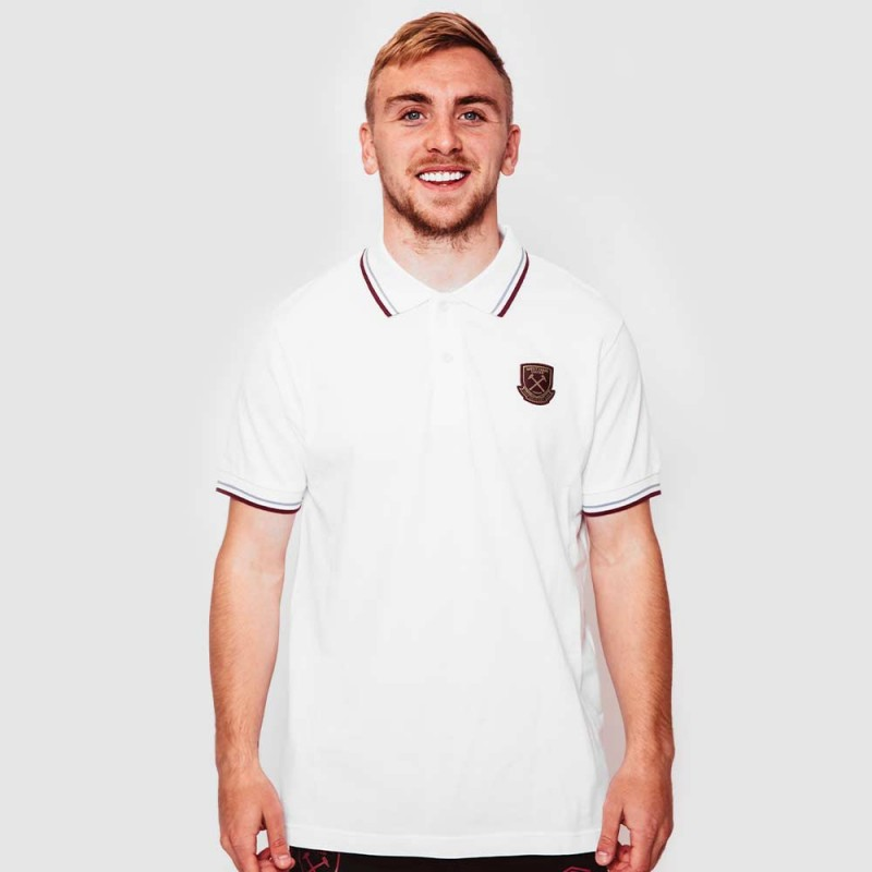 WEST HAM 125 - WHITE TIP POLO