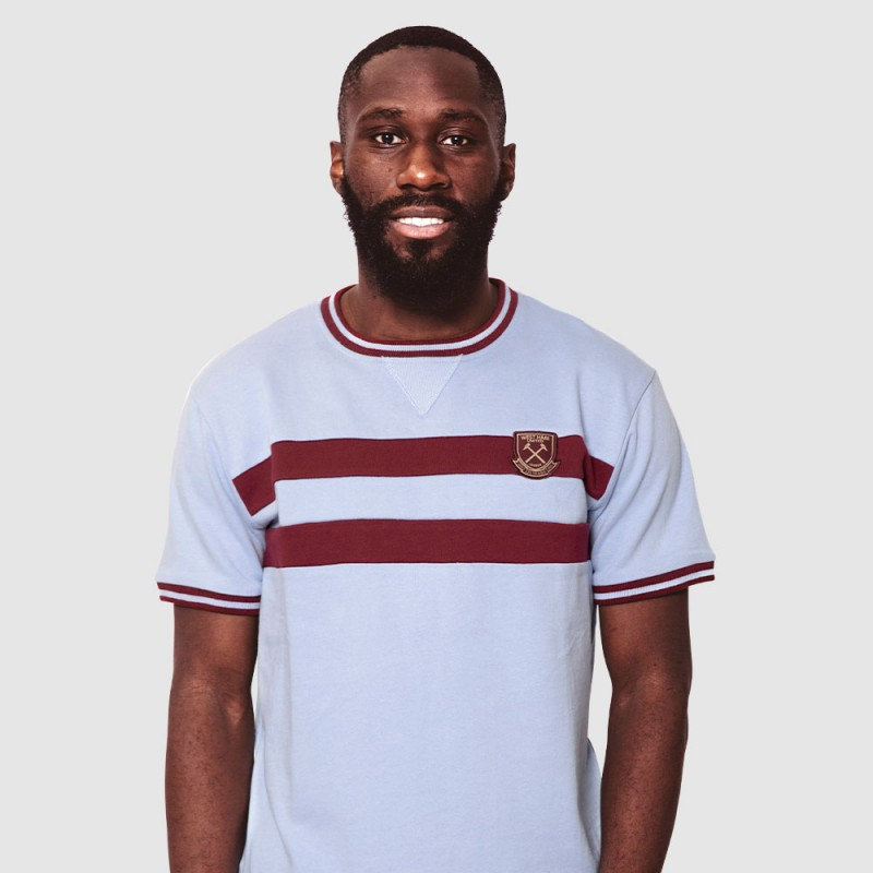 WEST HAM 125 - SKY VINTAGE T-SHIRT