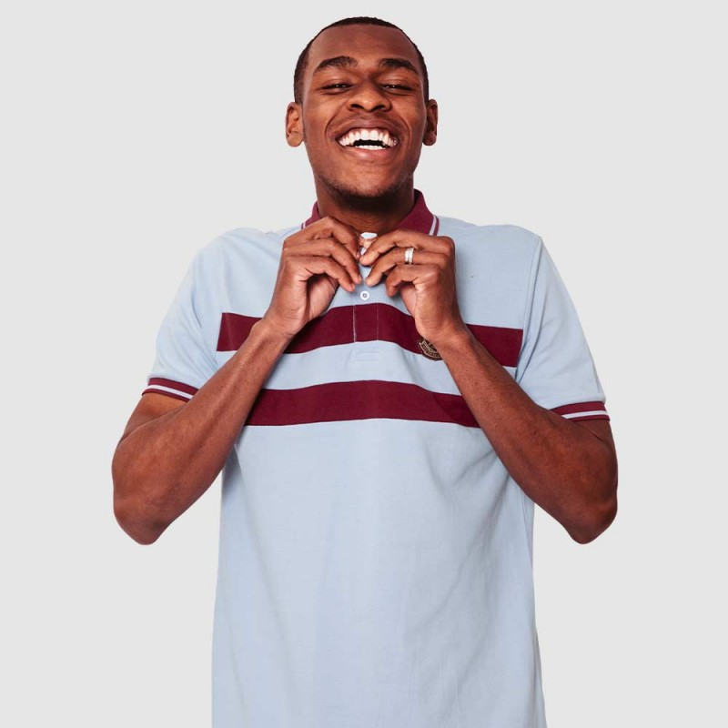WEST HAM 125 - SKY VINTAGE POLO
