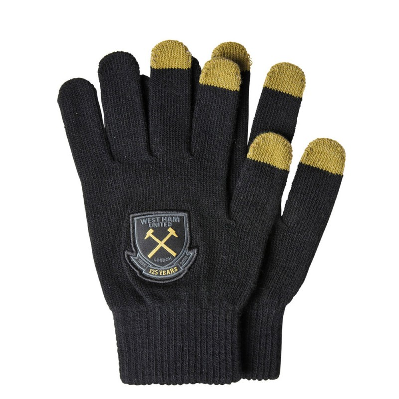 WEST HAM 125 - YOUTH TOUCH SCREEN GLOVES