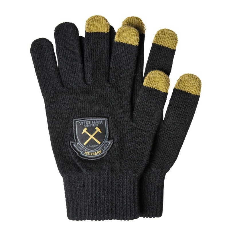 WEST HAM 125 - ADULTS TOUCH SCREEN GLOVES