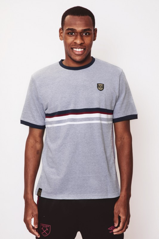 WEST HAM 125 - CONTRAST STRIPE T-SHIRT
