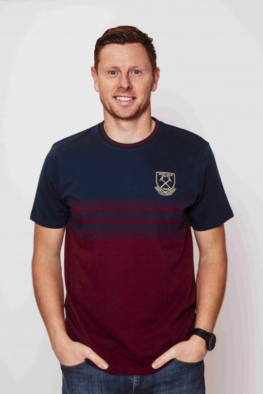 WEST HAM 125 - JACQUARD STRIPE T-SHIRT
