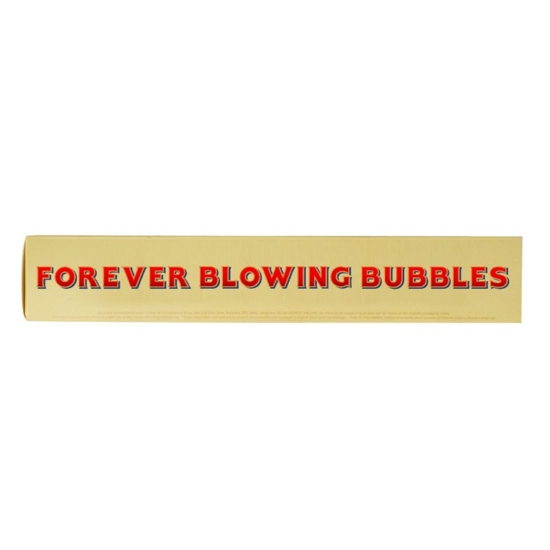 FOREVER BLOWING BUBBLES TOBLERONE