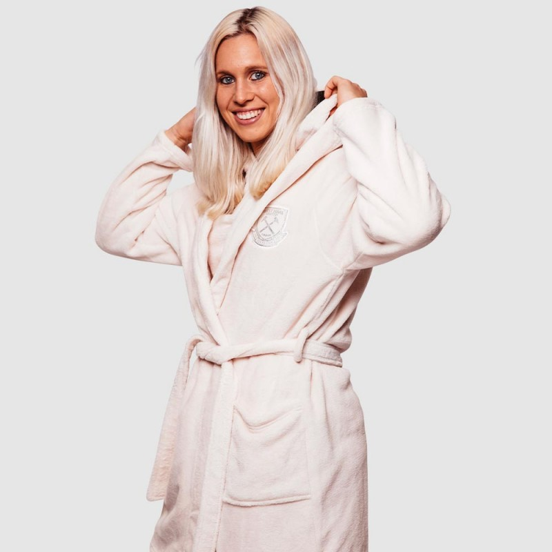 WEST HAM 125-WOMENS DRESSING GOWN