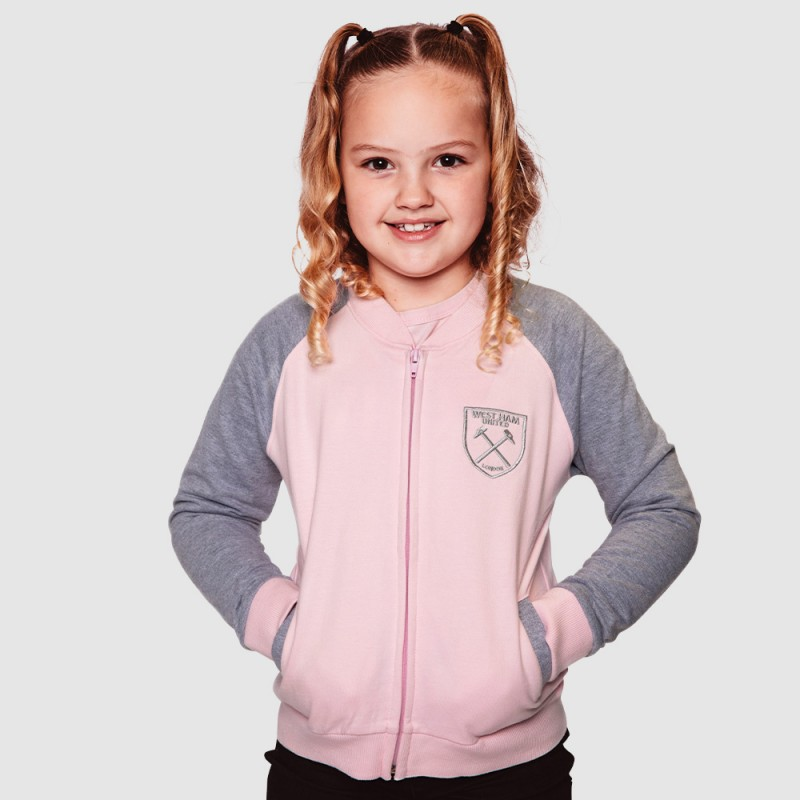 GIRLS PINK/GREY JACKET