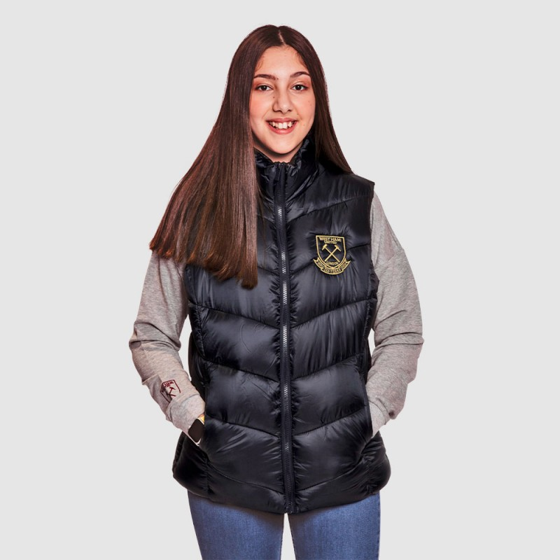 WEST HAM 125 - WOMENS NAVY GILET