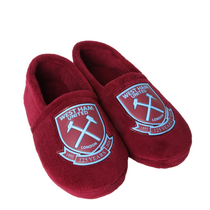WEST HAM 125-JUNIOR SLIPPERS
