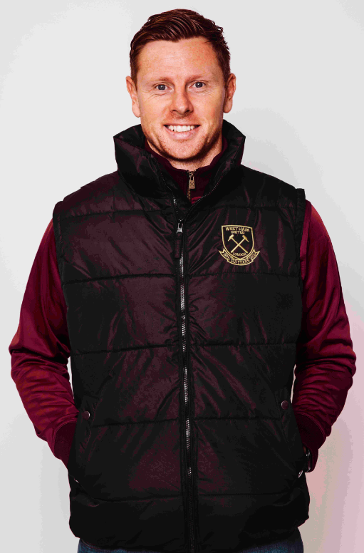 WEST HAM 125-BLACK GILET