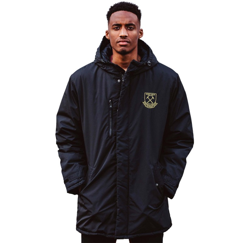 WEST HAM 125-BLACK LONG JACKET