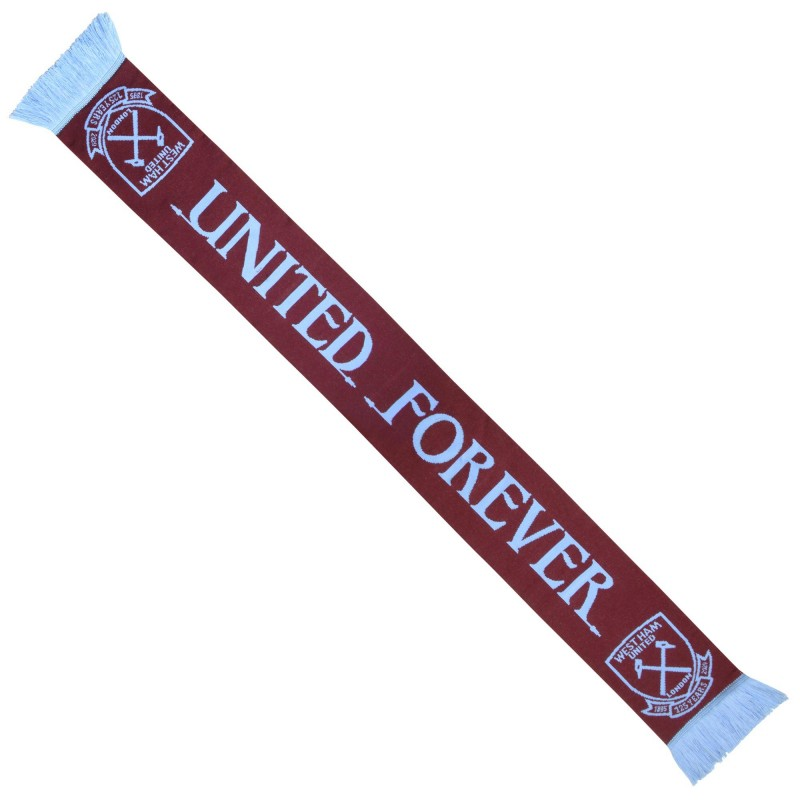 WEST HAM 125-UNITED FOREVER SCARF