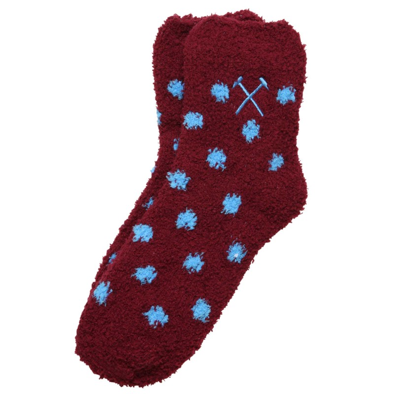 WEST HAM 125-WOMENS SLEEPSOFT SOCKS